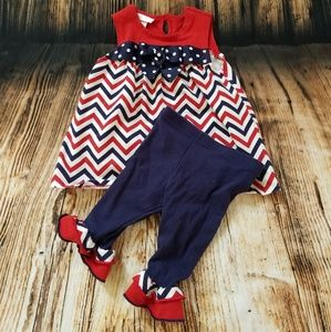 Dress with Leggings that match